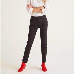 Boden Petite Richmond 7/8 Black Trouser Pants